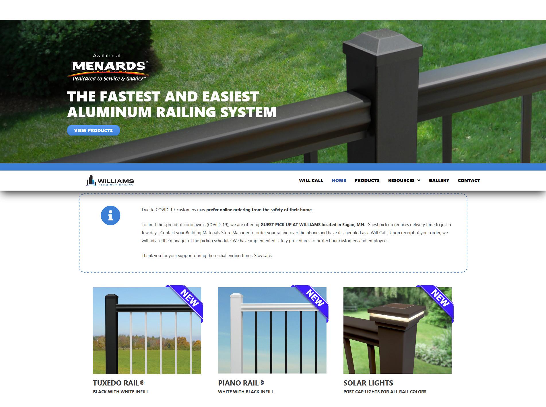 Screenshot_2020-10-23 Home - Williams Aluminum Railing